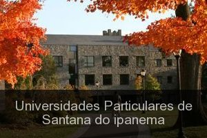 Universidades Particulares de Santana do ipanema